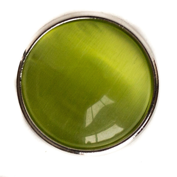 Cats Eye Regular Medallion - Green
