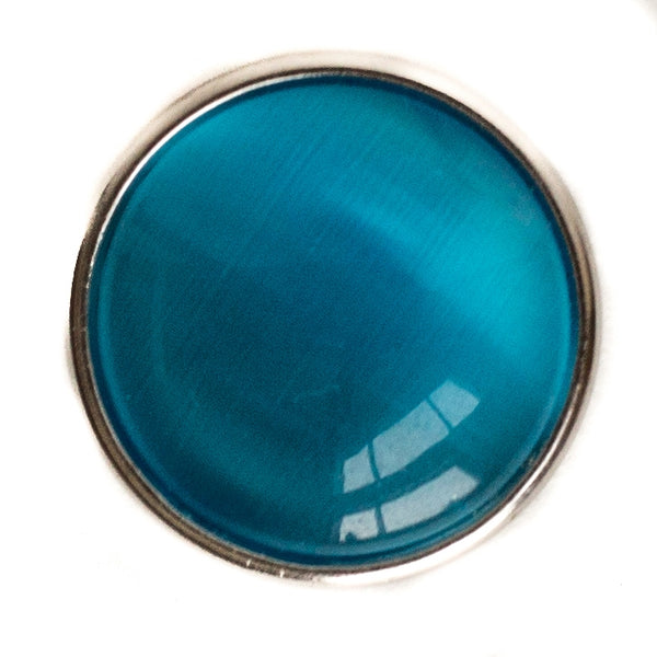 Cats Eye Regular Medallion-Blue