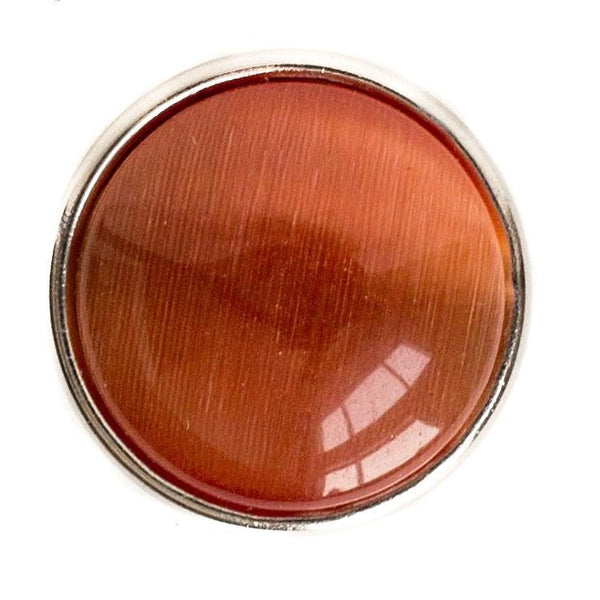 Cats Eye Regular Medallion-Orange