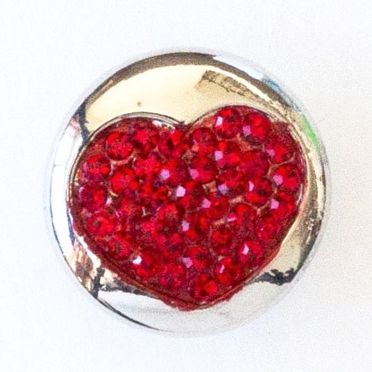 Hearty Bling - Red