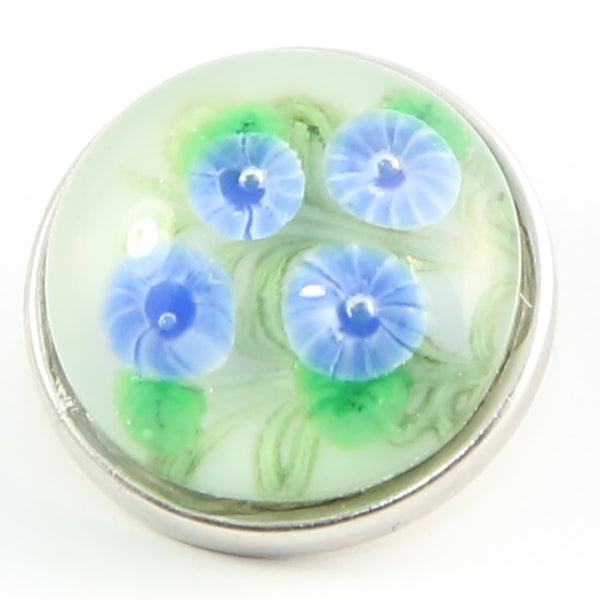 Glass Flower - Blue