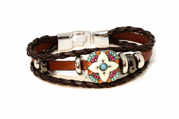 Xena Bracelet - Brown