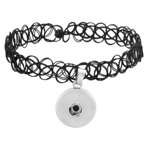 Tattoo Choker- Black