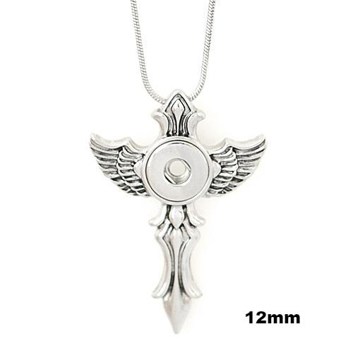 Mini Angel Cross Necklace *comes w chain