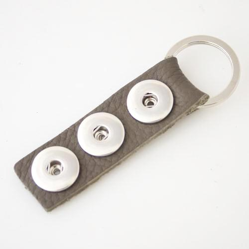 Triple Play Keychain - gray