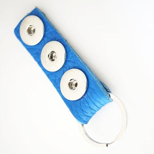 Triple Play Keychain - Blue