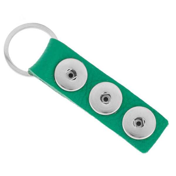 Triple Play Keychain - green