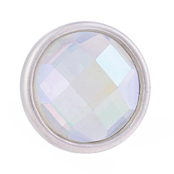 Mini Crystal - Iridescent/White (April)
