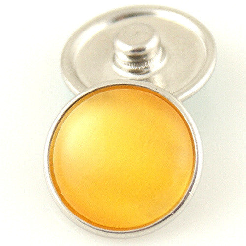 Cats Eye Regular Medallion - Yellow