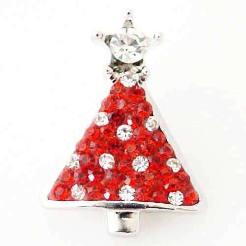 Christmas Tree Bling Simple red and clear