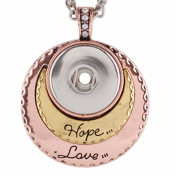 Love Hope Gold Pendant