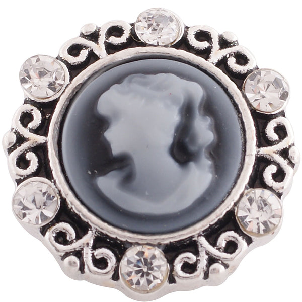 Cameo Round - Charcoal
