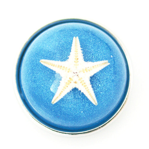 Sandy Sea Star - Blue Amber