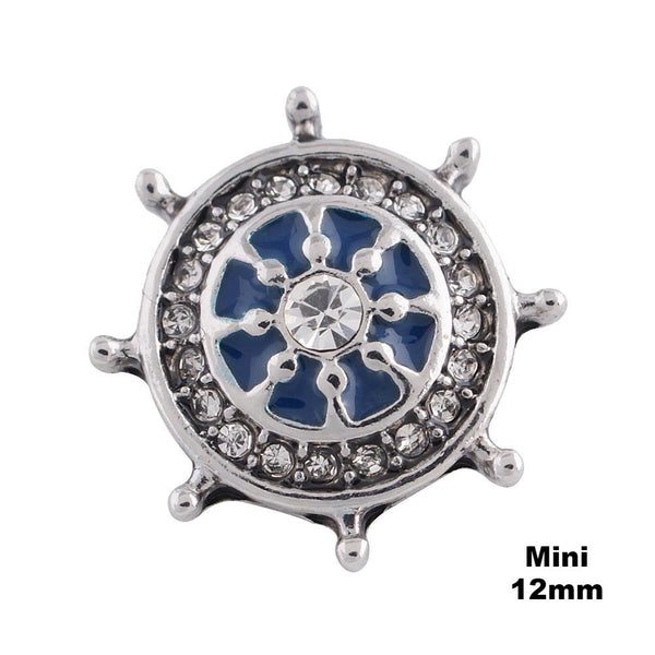 Mini Captain's Wheel-blue