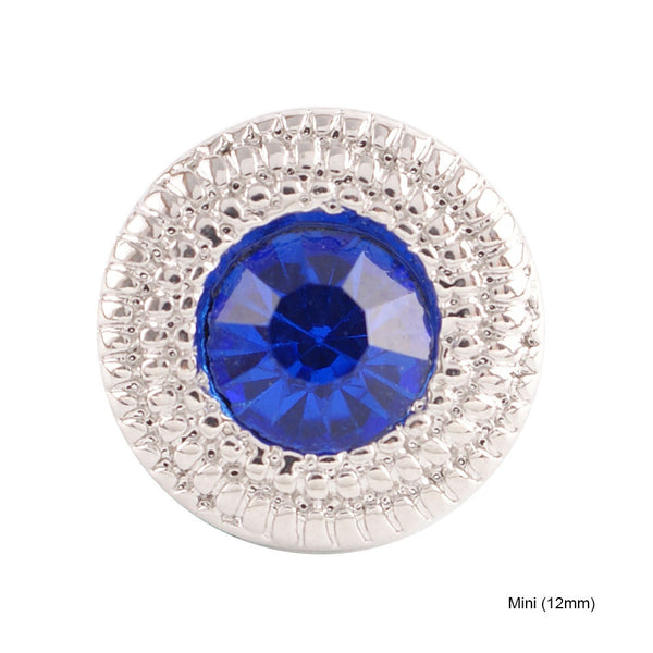 Mini Birthstone - Silver Plated September Sapphire