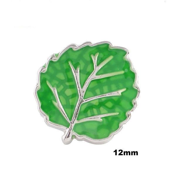 Mini Green Leaf Enamel