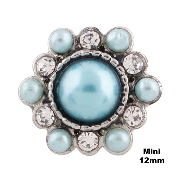 Mini Pearl Cluster - Robin's Egg Blue