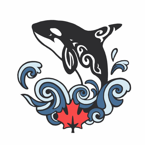 Artistic Canada Orca - Exclusive Design