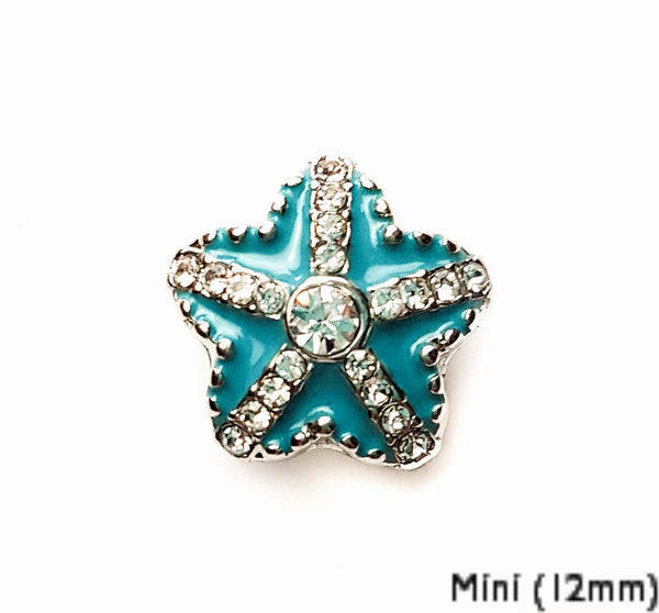 Mini Starfish Teal