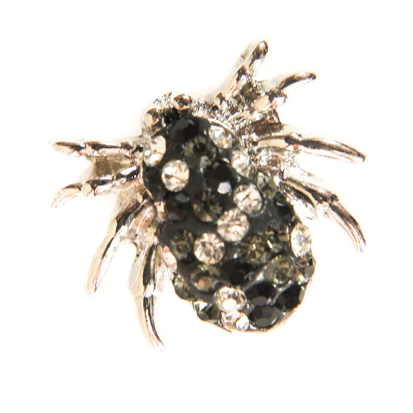 Itsy blingy spider - Black