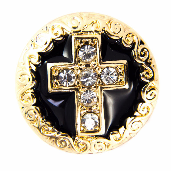 Gold Sparkle Cross