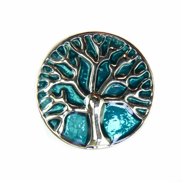 Sunrise Tree - Teal