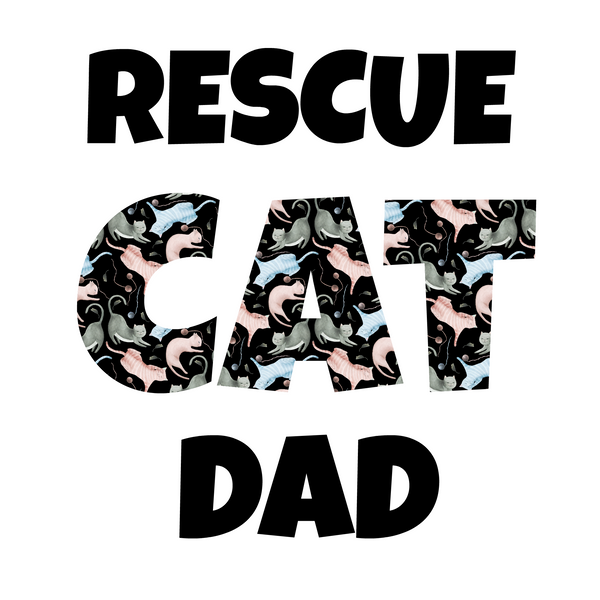 Rescue Cat Dad