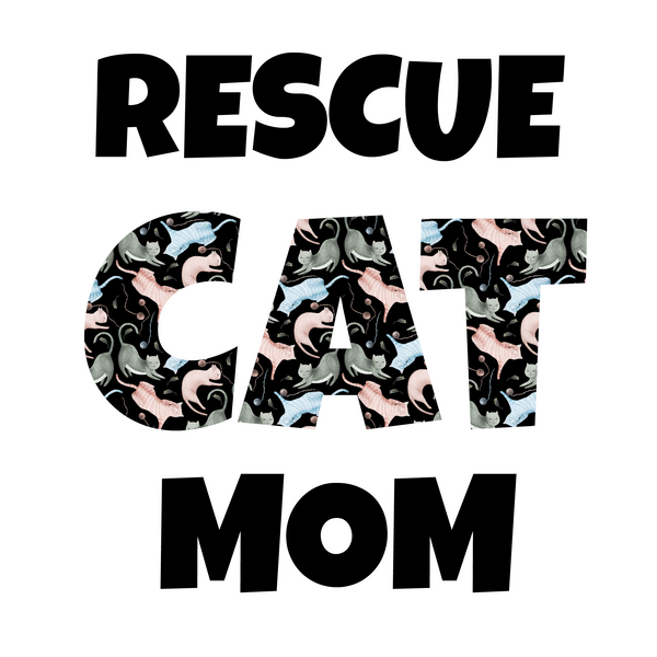 Rescue Cat Mom