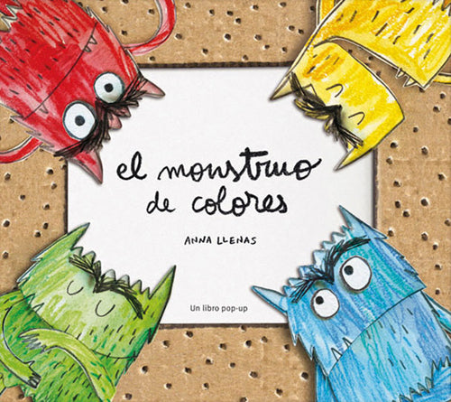- Educajoc Libro Monstre dels colors - Pop up (en català)