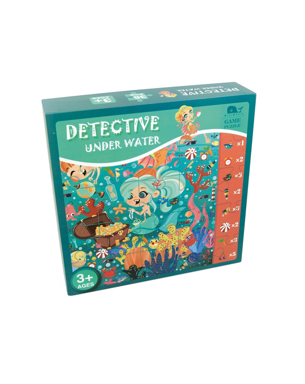 - Educajoc Detective Under Water