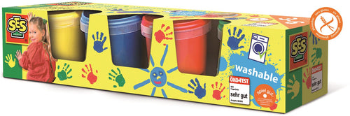 - Educajoc PINTURA PARA DEDOS 4COLORES X 150ML