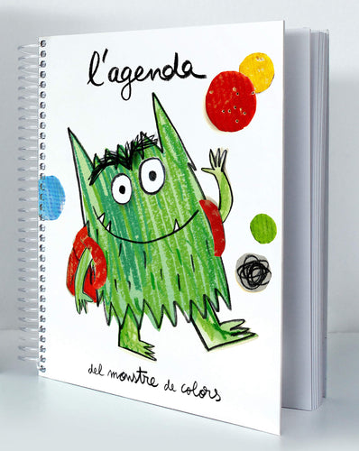 - Educajoc Agenda Monstre de colors (en català)