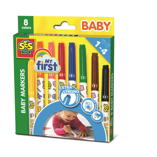 - Educajoc My first - Rotulador infantil punta segura 8 colores