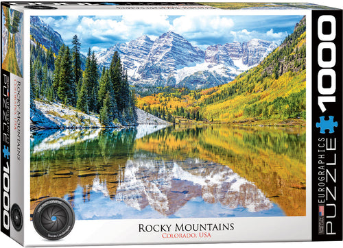 - Educajoc Puzzle Rocky Mountain, Colorado