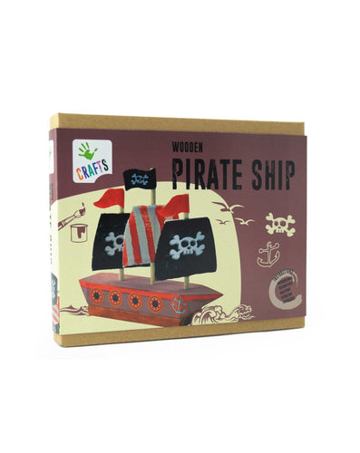 - Educajoc Wooden Pirate Ship
