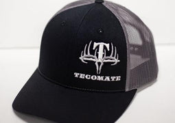 Tecomate Black & Grey Side Logo Cap