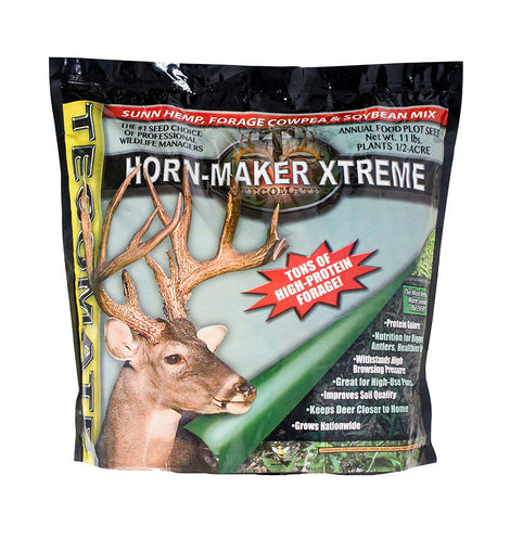 Deer Food Plot Seed > Horn-Maker Xtreme – 11 lb, & 25 lb