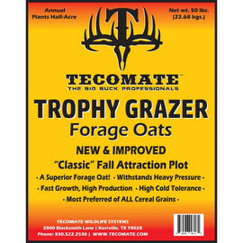 Trophy Grazer Oats — Deer Food Plot Seed