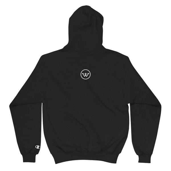 White Widow Champion Hoodie