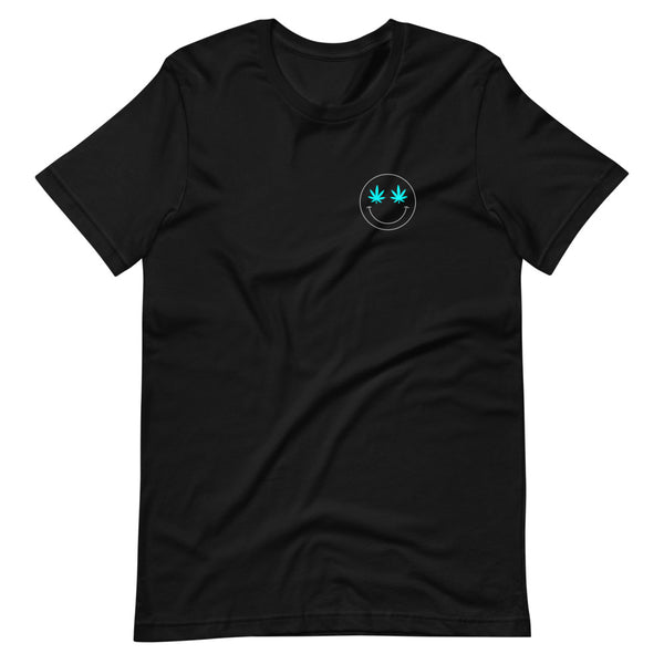 Blue Smiley Unisex T-Shirt