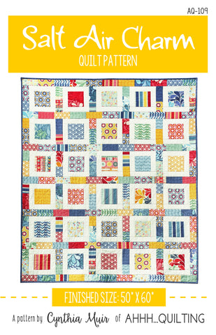 Salt Air Charm Quilt Pattern - PAPER