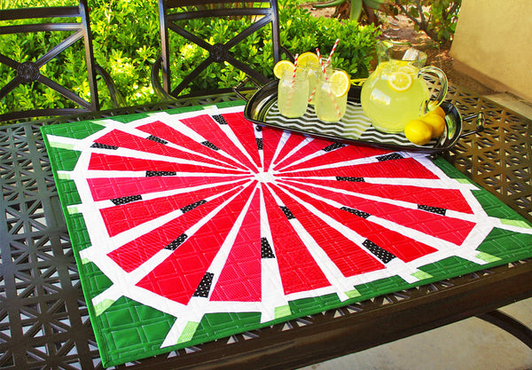 Watermelon Quilt Pattern - PAPER