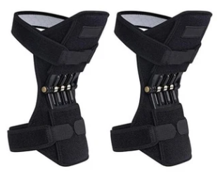a pair of ExoBrace™ Power Knee Stabilizer Pads, knee Joint Support braces