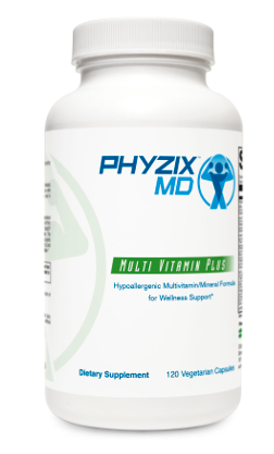 Phyzix MD™ MultiVitamin Plus (120 Vegetarian Capsules) Daily Supplement