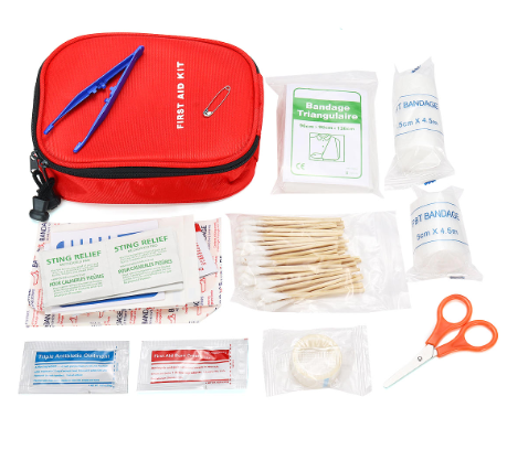 Survive+All™ First Aid Kit 100Pcs SOS Emergency Survival Kit Camping Bag