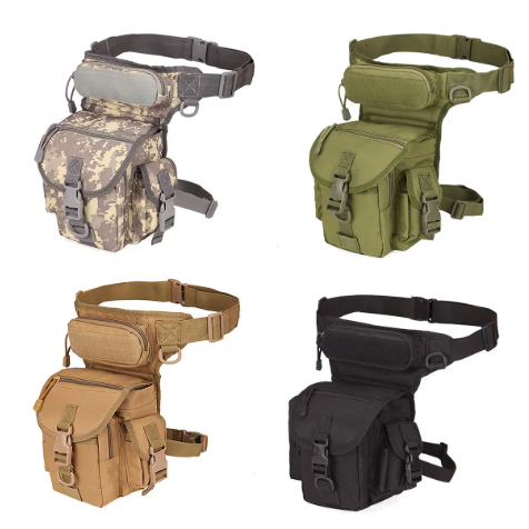 Survive+All™ Nylon Fanny Leg Strap Pack Waterproof Military Tactical Bag