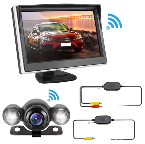ThinkCam™ Wireless Car Night Vision Backup Camera