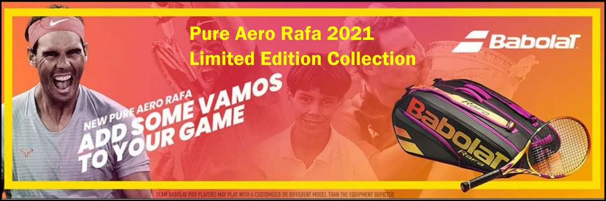 T1 SPORTS Pure Aero Rafa 2021 Collection