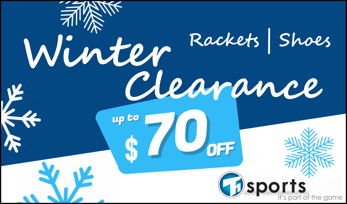 T1 SPORTS Winter Clearance Sales Event