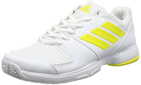 Adidas Barricade Court W (White / Yellow)
